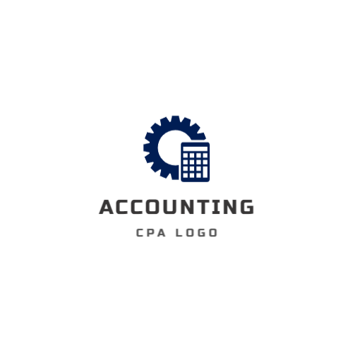 Accounting center free logo template