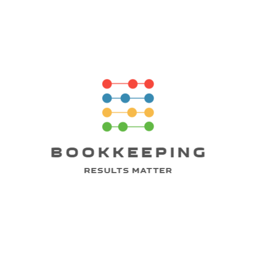 Bookkeeping or accountant logo