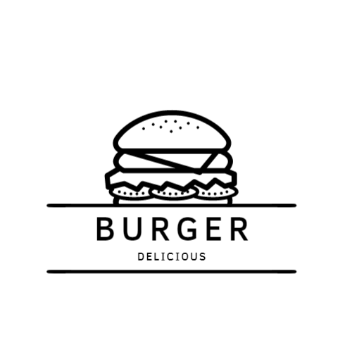 Burger Drawing logo