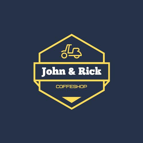 John & Rick, Coffeshop Logo