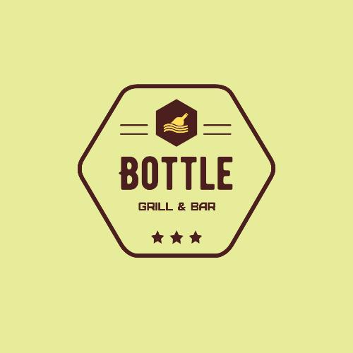 Bottle, Grill & Bar Logo
