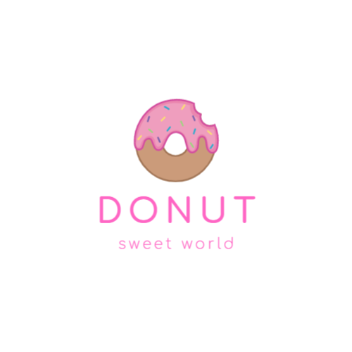 Store selling donuts logo design