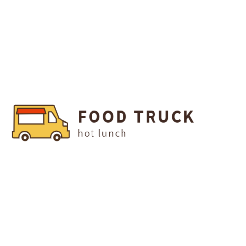 Orange Food Truck logo