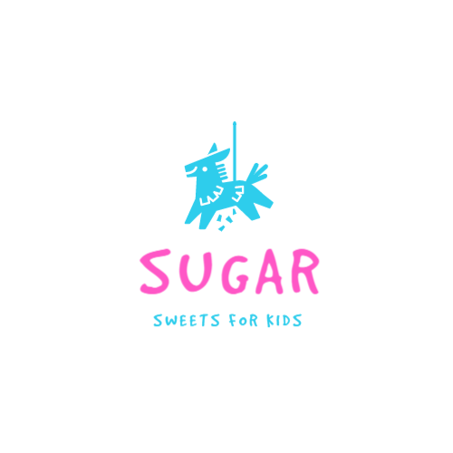 Shop selling sweets for kids logo