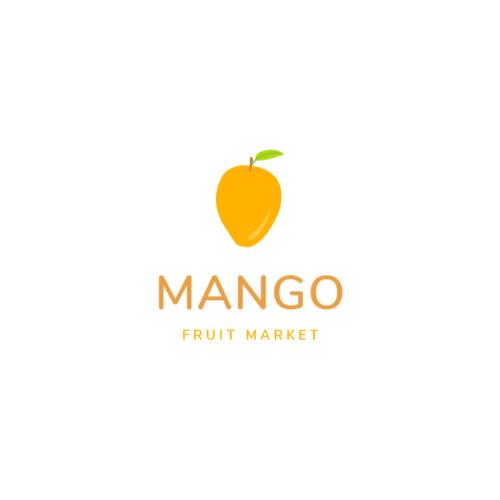 желтый манго логотип