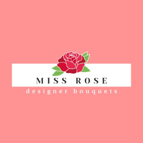 роза розовый логотип шаблон