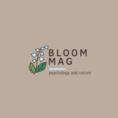 логотип bloom mag